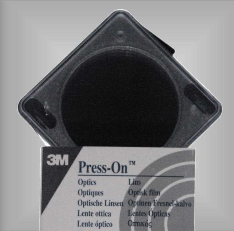 Original 3M Press on Prismenfolie, 8,0 cm/m