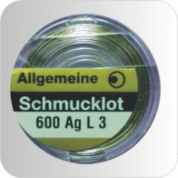 Schmucklot, 600 AGL 3  2g Dose  Bestell-Nr. 131 410