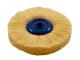 Wollrundbürste  Ø95mm, 16mm breit  Bestell-Nr. 250 077, VPE = 1 Stück